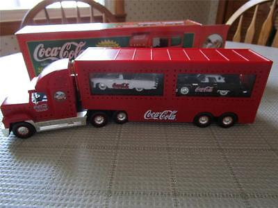 COCA COLA 2001 HOLIDAY DUAL CLASSIC CARRIER LIMITED EDITION IN BOX THUNDERBIRDS