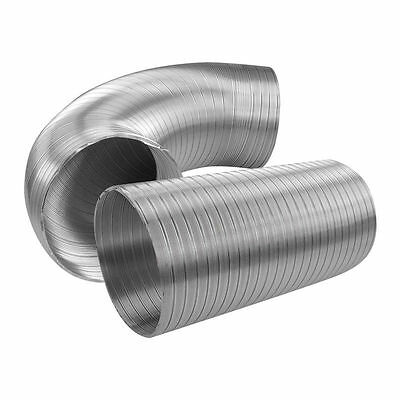 Flexible Aluminium Air Ducting Ventilation Accessory Alloy Vent Tube Hose Duct