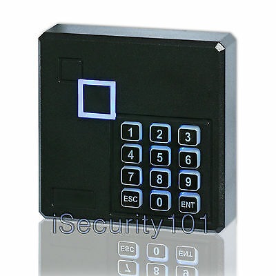 Door Access Control RFID Keypad Reader Card Proximity Wiegand 26 Weatherproof