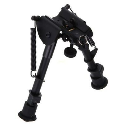 "New Adjustable Stud Spring 6""-9"" Rifle Bipod Picatinny Rail Mount Swivel Sling"