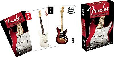 Fender Stratocaster set of 52 playing cards (nm)