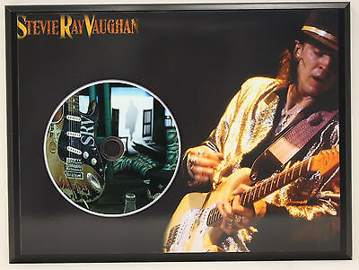 STEVIE RAY VAUGHAN Ltd Edition Picture Disc Poster Art Display Free Shipping