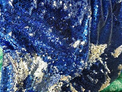 Mermaid flip up, Fish Scale Sequin Fabric Reversible Sequin Fabric , sold by yar