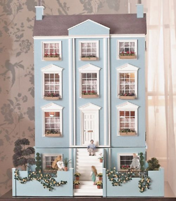 The Classical Georgian Dolls House Kit by Dolls House Emporium Unpainted