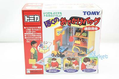 TAKARA TOMY TOMICA My Outing Bag Construction Site odekake toy car briefcase