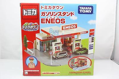 Takara Tomy Tomica Town Gasoline GAS Service Station Eneos Toys Car Diecast