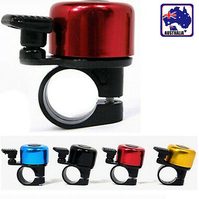 Metal & Plastic Ring Handlebar Bell Sound for Bike Bicycle Cycling Alarm OBBEL01