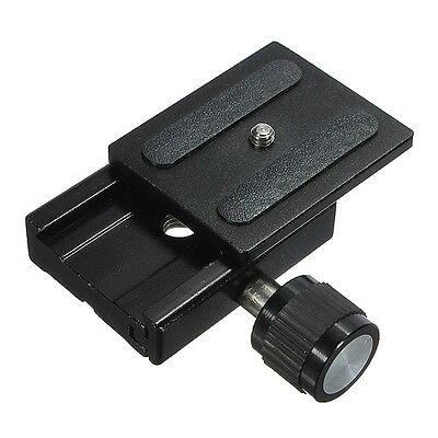 Universal Metal Clamp for Arca-Swiss Camera Tripod Ball Head Quick Release Plate