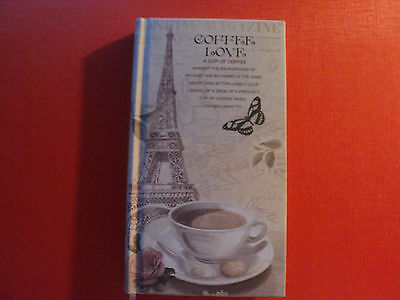 France theme - Hardcover  notebook of Paris-  good quality (b)