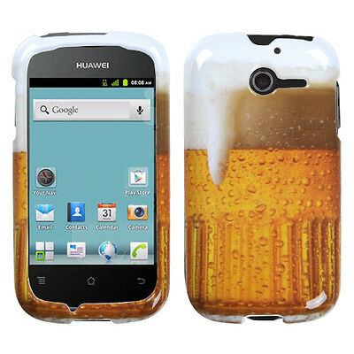 HUAWEI M866(Ascend Y)Case Cover Hard Image Printed Beer