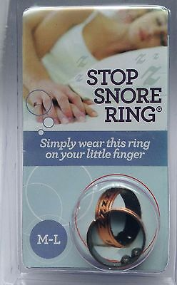 Anti snoring device stop snoring with a stop snore ring