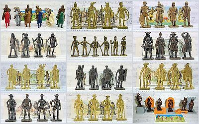 Metallfiguren - Verschiedene Serien - Various Sets - Please select !