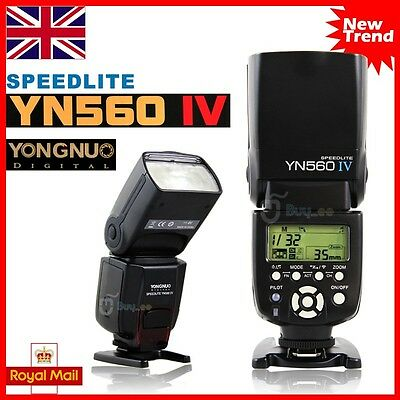 YONGNUO YN-560 IV Wrieless Speedlite Flash for Canon Nikon Camera / YN-560 III