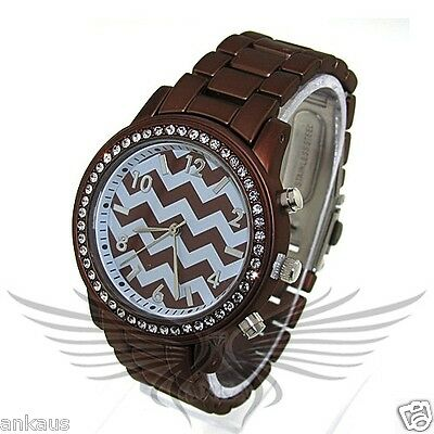 Unisex Geneva High Quality Accented Stylish Metal Wristwatch WML79