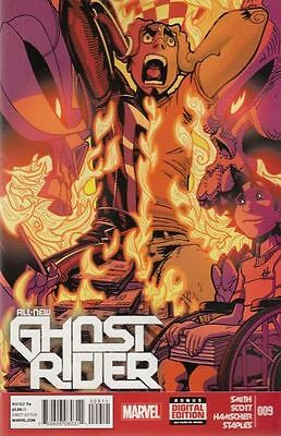 All New Ghost Rider  #9   Nm  New