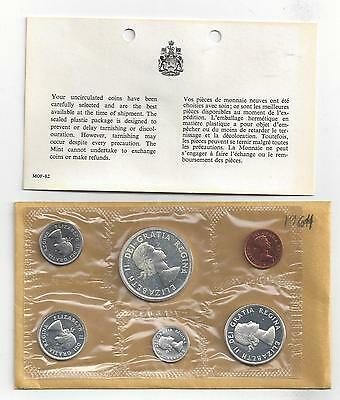 Canada, 1964, Proof Like Silver Set, Original Cello Package, Uncirculated