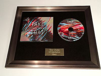 Take That -These Days Cd Framed Presentation.gary Barlow,mark Owen. Rare