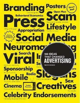 100 Ideas that Changed Advertising by Simon Veksner Paperback Book Free Shipping