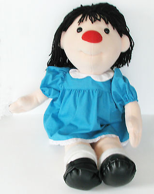 """Big Comfy Couch Molly Doll 26"""" Stuffed Plush PBS Large Vtg 1995 TV Commonwealth"""