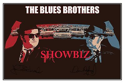 The Blues Brothers * James Belushi * Dan Aykroyd * Quality Signed Autograph Pic