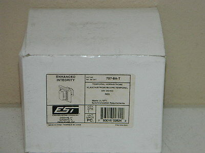new est edwards 2452ths 30 w horn strobe 30 temporal white