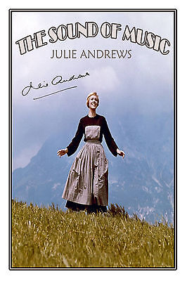 Julie Andrews - Large Signed Autograph Photo Print Poster - Great Collectable