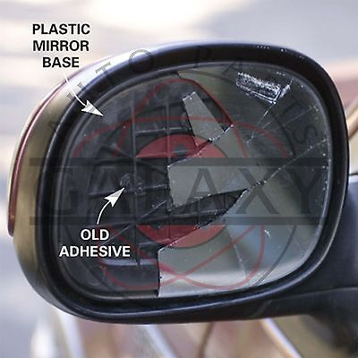 New Door Mirror Glass Complete- Driver Sides For Chevrolet Spark 2013