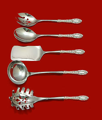 Canterbury By Towle Sterling Silver Dessert Serving Set 4pc Custom Made Other Antique Furniture