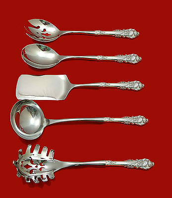 Sir Christopher by Wallace Sterling Silver Hostess Set 5pc HHWS  Custom Made