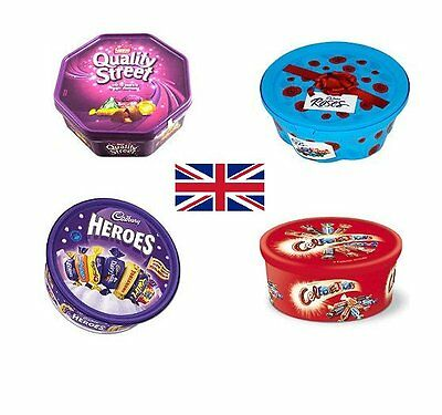 Quality Street, Roses, Heroes or Celebrations Chocolates Sharing