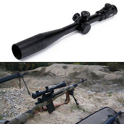 New 10-40x50 ESF Precise ZOS Rifle Scope IR SWAT Extreme Tactical