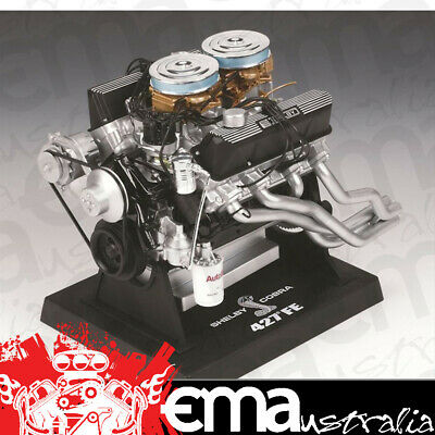 """Liberty Classics 1:6 Scale Ford 427 Shelby Cobra Engine 6""""x 6.5""""x 5"""" Lc84427"""
