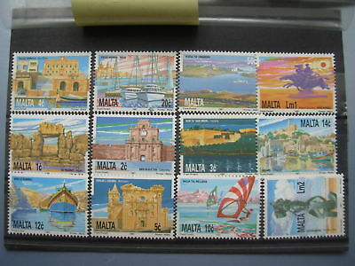 MALTA 1991 defs set of 12 MNH SG 905-16 #39869