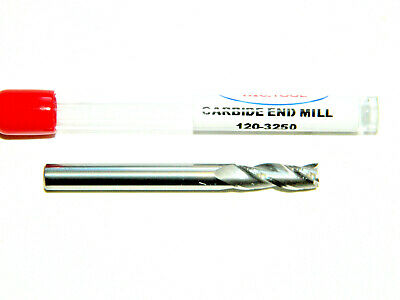 "Carbide 4 Flute End Mill 7//16/"" 2-1//2 Long Square USA HTC 120-4437 G11"