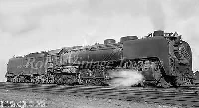 Union Pacific Steam train Locomotive 814 #2  4-8-4 Northern Railroad Photo  UP