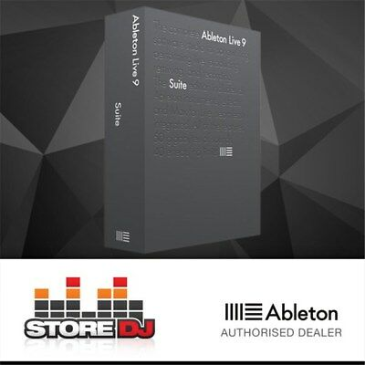 Ableton Live 9 Suite Music Production Software w/ FREE Update to Version 10 in F