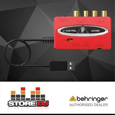 Behringer U-Control UCA222 USB Audio Interface