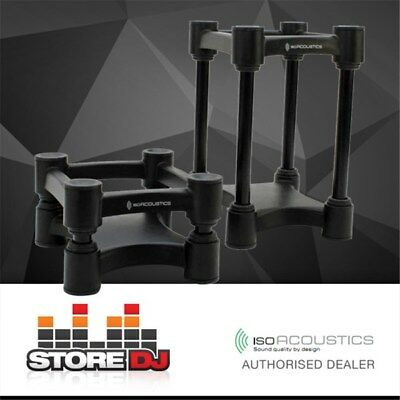 IsoAcoustics ISO L8R130 Studio Monitor Isolation Stands - Small (Pair)