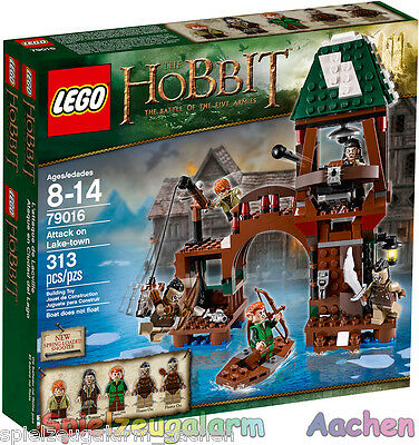 LEGO 79016 The Hobbit An Unexpected Journey Angriff auf Seestadt Attack on Lake