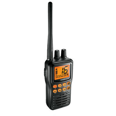 Uniden MHS75 Handheld VHF with Li-Ion Battery + DC Charger