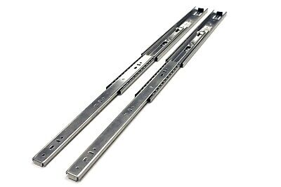 "10 Pairs Full Extension 100-lb Ball Bearing Drawer Slides 8""-24"""