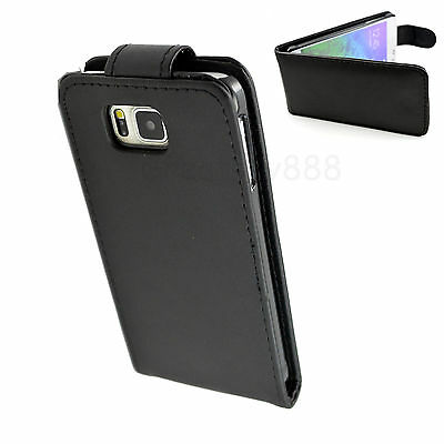 Flip Leather Cell Phone Pouch Case Cover Skin For SAMSUNG GALAXY ALPHA SM-G850F