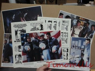 1983 THE LORDS OF DISCIPLINE Mini Lobby Card Lot of 7 David Keith Vintage