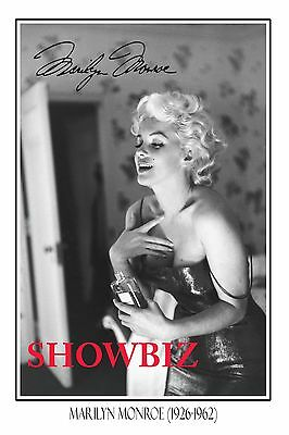 Marilyn Monroe Huge Signed Autograph Poster Photo Print- Absolutely Stunning -