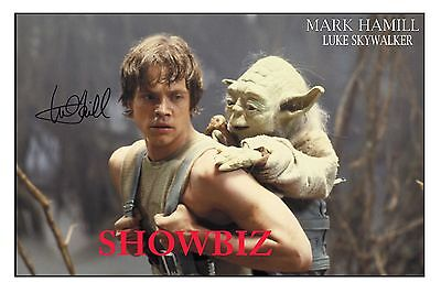 * Mark Hamill * Star Wars * Large Signed Autograph Poster Photo Print * Awesome