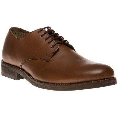 New Mens Ben Sherman Tan Arista Derby Leather Shoes Lace Up