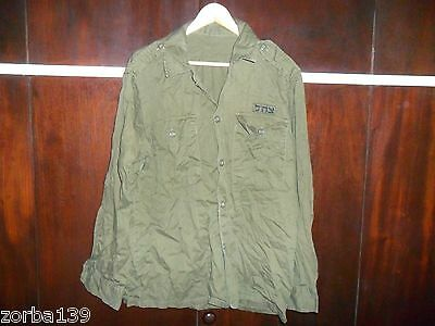Idf Zahal Shirt Authentic Not Commercial Infantry Field Heavy Duty. Israel Army