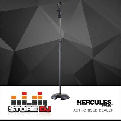Hercules MS201B Mic Stand with H-shaped base & Quik-N-EZ Clip