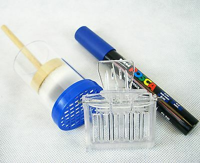 Beekeeping BLUE Queen marker set 2015