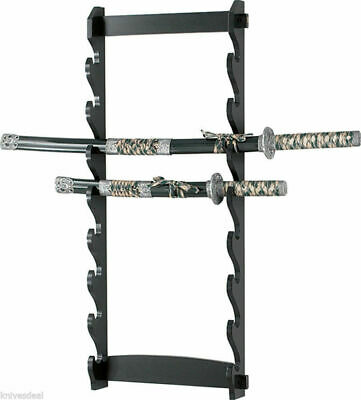 8 Tier Sword Wall Display Stand Rack only